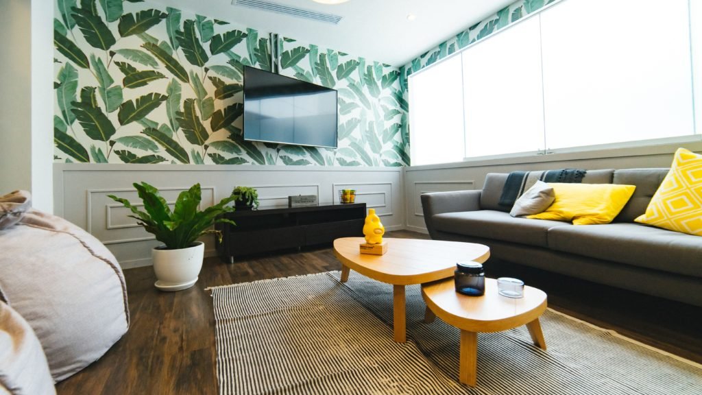 中高生も真似したい、観葉植物がインテリアにあるおしゃれ部屋