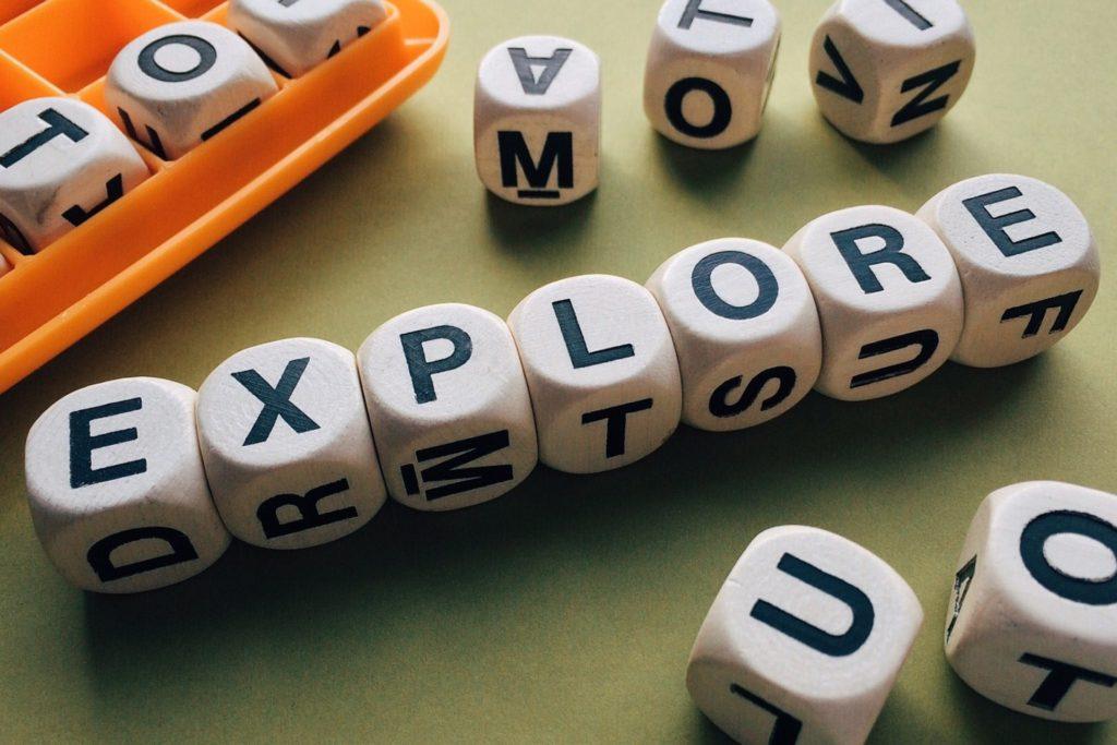 接頭辞のつく英単語、exploreの画像