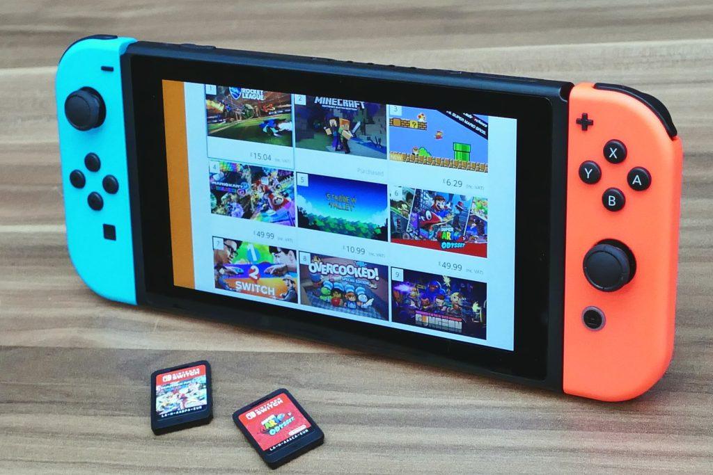 switchのスクリーンショットをパソコンやスマホに送る方法