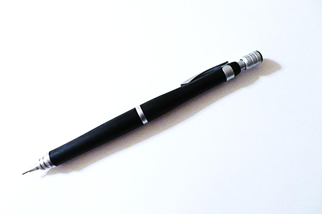 シャーペン・S20のレビュー① 木軸のデザインに惚れる