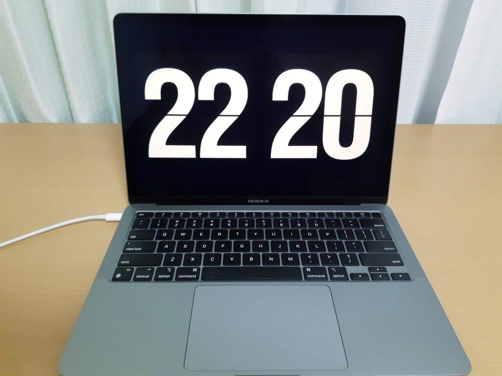 MacBook Air M1を1ヶ月使ったレビュー